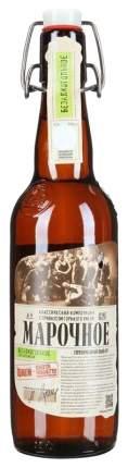 Пиво Афанасий Мар светл б/а 0,5л. ст/б