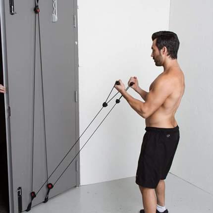 Тренировочная система LiveUp Door Gym LS3214, разноцветный