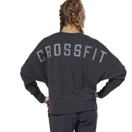 Женская толстовка Reebok CrossFit® Terry Crew DU5122, серый, S INT