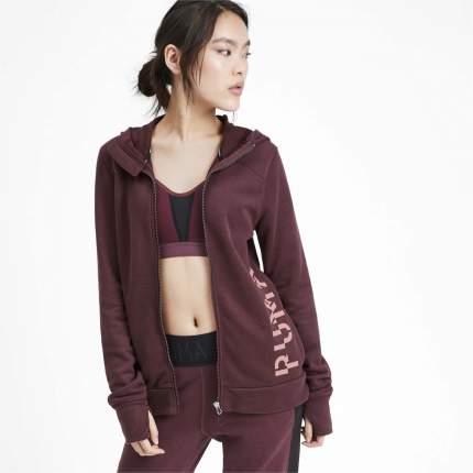 Женская толстовка Puma Logo Sweat 51833302, красный, XS INT