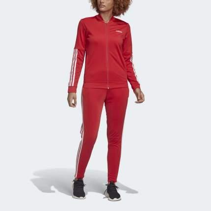 Спортивный костюм Adidas Back 2 Basics 3-Stripes, красный, M INT
