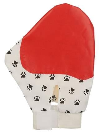 Щетка-наладонник для животных Пижон Лапа, пластик, разноцветный, 22 см