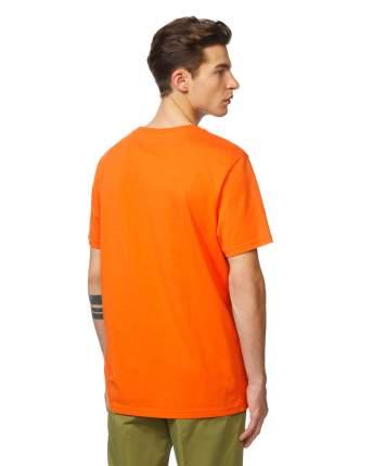 Футболка мужская United Colors of Benetton 3BL0J17A1 оранжевая S