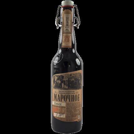 Пиво Афанасий Марочное темн.4,9%ст/б0,5л