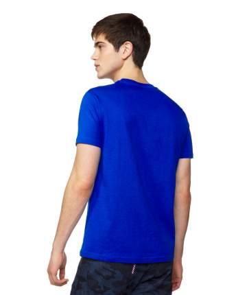 Футболка мужская United Colors of Benetton 3I1XJ16G7 голубая S