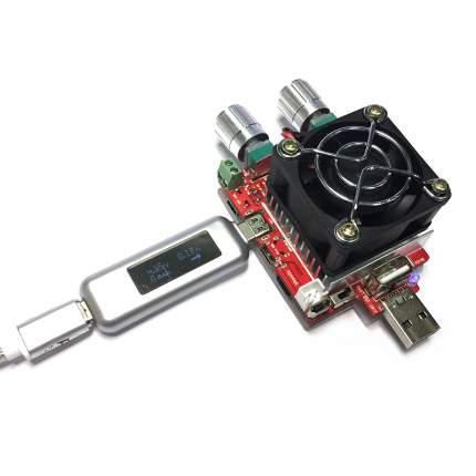 Цифровой тестер USB 3.1 Type-C Espada T-UTC-20/V, A, mAh/