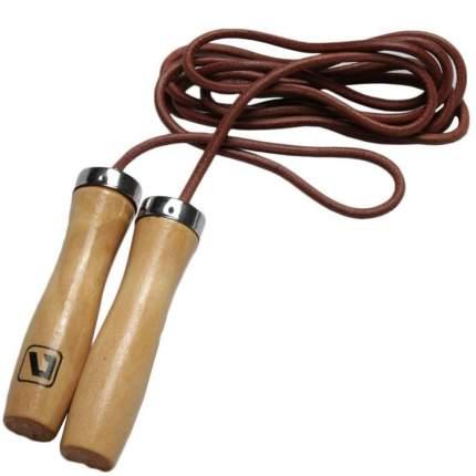 Скакалка LiveUp Jump Rope Leather LS3121, желтый