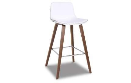Полубарный стул iModern Jasper, коричневый/белый
