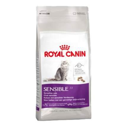 Сухой корм для кошек ROYAL CANIN Sensible 33, при чувствительном пищеварении, 2кг