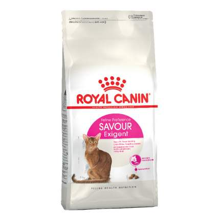 Сухой корм для кошек ROYAL CANIN Savour Exigent, для привередливых к вкусу, 2кг