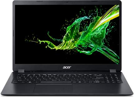 Ноутбук Acer A315-56-33BN Black (NX.HS5ER.01E)