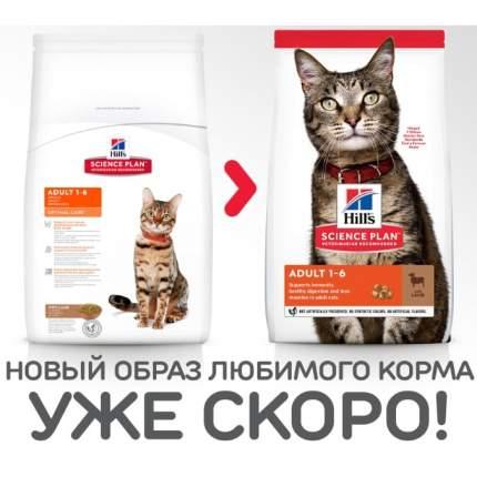 Сухой корм для кошек Hill's Science Plan Optimal Care, ягненок, 10кг