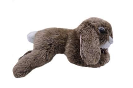 Мягкая игрушка Anna Club Plush Кролик лежит, коричневый 25 см