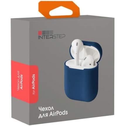 Чехол InterStep для Apple AirPods Dark Blue