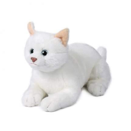 Мягкая игрушка Anna Club Plush Кошка Русская белая, лежит 20 см