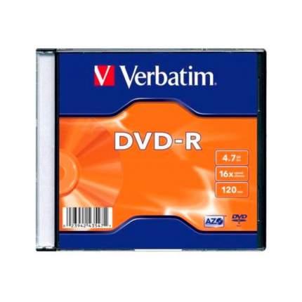 Диск DVD-R Verbatim 4.7Gb 16x 100шт