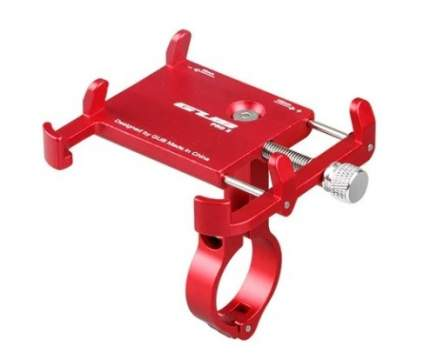 Держатель для телефона/ смартфона на велосипед GUB PRO 2 красный