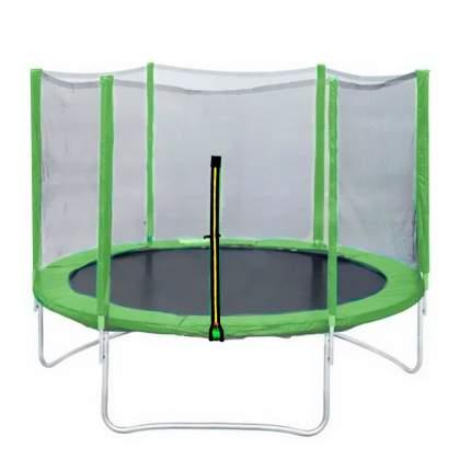 Батут DFC Trampoline Fitness с сеткой 183 см, зеленый