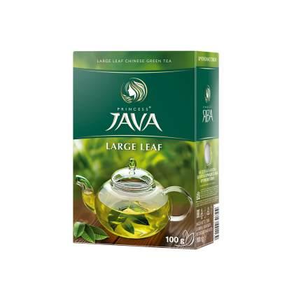 Чай зеленый листовой Принцесса Ява Крупнолистовой 100 г