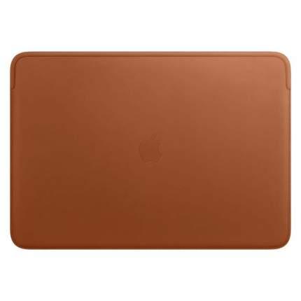 Кейс для MacBook Apple Leather Sleeve 16'' MacBook Pro Saddle Brown