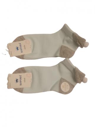 Носки детские 2 пары Корона, цв. голубой р.16