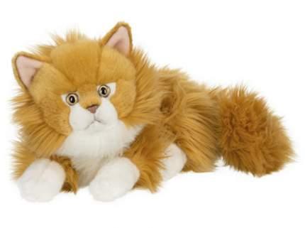 Мягкая игрушка Anna Club Plush Кот сибирский рыжий, лежит 25 см