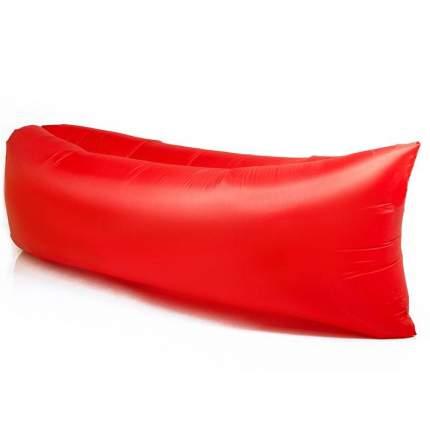 Надувной диван лежак Baziator P0004 220х70 см red