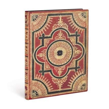 Записная книжка Paperblanks Flexis Ventaglio Rosso Kraft Midi лин. 130*180 мм, 176 стр.