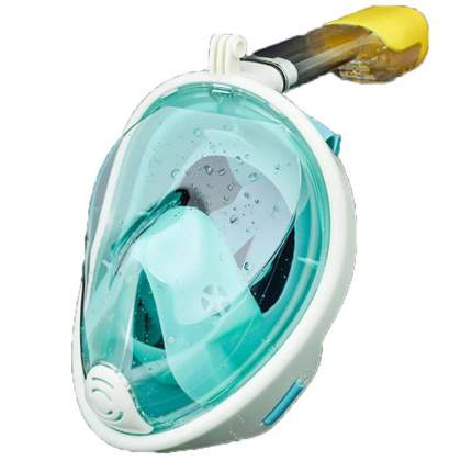Маска для плавания FreeBreath L/XL turquoise