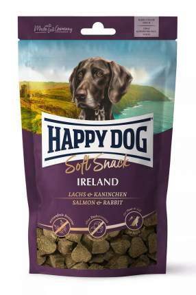 Лакомство для собак Happy Dog Ireland, сердечки, кролик, лосось, 100г