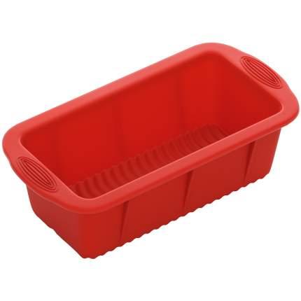 Форма для кекса NADOBA MILA 25.5x13x7,2см красный 762012
