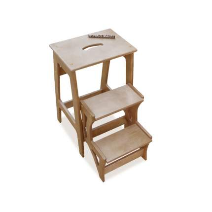 Табурет Мебель Welcome ТС-3-ОЛ 40х60х65 см, ольха