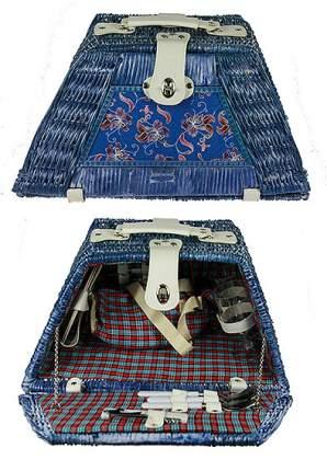 Набор для пикника на 2 персоны, 46x30x24 см, арт. 30125