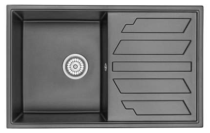 Мойка для кухни гранитная GRANULA, GR-8002 шварц