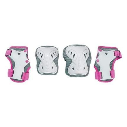 Детская защита для катания Тech Team SAFETY LINE 200 розовая размер S