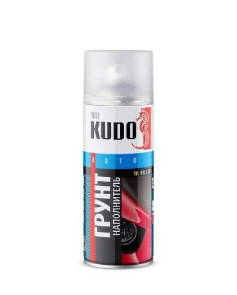 Грунт-наполнитель KUDO KU-2203 1к акриловый черный 520 мл