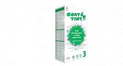 Сухой молочный напиток GOATTINY 3 на основе козьего молока от 12 мес 400 гр