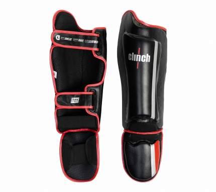 Защита голени и стопы Clinch Shin Instep Guard M1 черная L