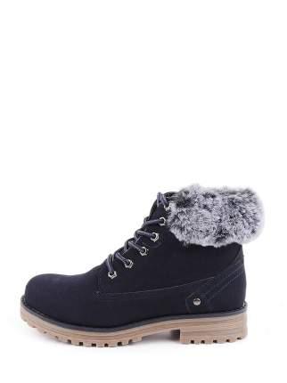 Ботинки для девочек KEDDO 598127-07-02B цв. синий р.34