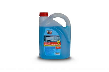 Жидкость омывателя -20С 4л с лейкой PINGO