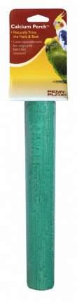 Жердочка для птиц Penn-Plax Calcium Bird Perch, минеральная, 25 х 5 см