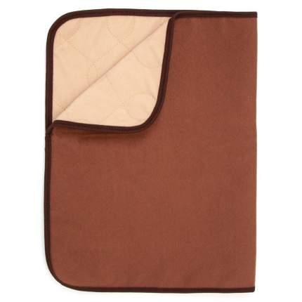 Пеленка для собак OSSO Fashion Comfort, многоразовая впитывающая, коричневая, 60х70 см