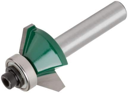 Фреза кромочная конусная с подшипником 25х10х54,3мм FIT 3607-081025