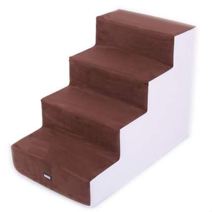 Приставная лестница для собак и кошек Pretty Pet White Angel, L, 4 ступеньки, 64х40х48 см