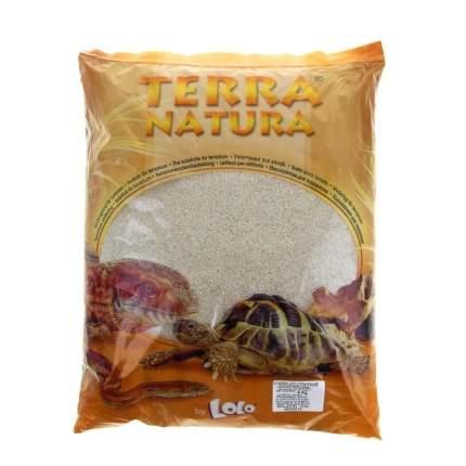 Натуральный песок для террариумов LoloPets Classic, бежевый, 6кг