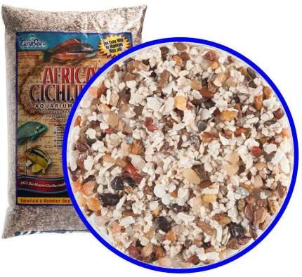 Натуральный песок для аквариумов CaribSea African Cichlid Mix Congo River, белый, 9кг