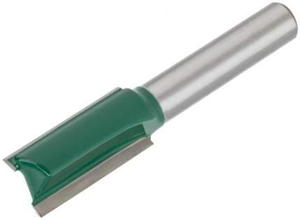 Фреза пазовая прямая с двойным лезвием 12х25х60,4мм FIT 3601-082512