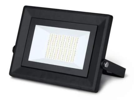 Прожектор светодиодный Gauss Qplus 50W (4500lm) 6500K, 208х186х33мм, IP65, 613511350