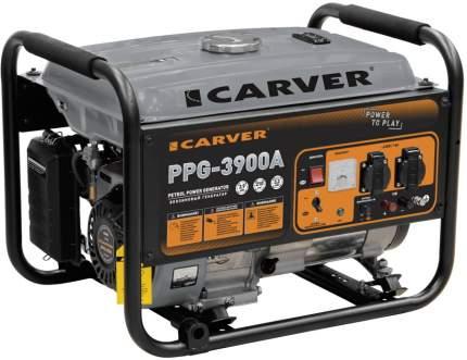 Бензиновый генератор CARVER PPG- 3900А, 220/12 В, 3.2кВт [01.020.00012]