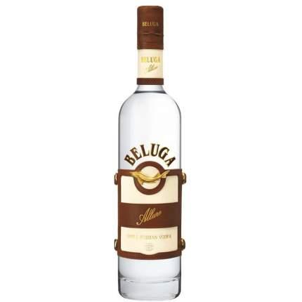 Водка Белуга Аллюр 40% 0,7 п/у кожа